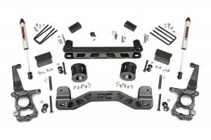 """Rough Country 4"""" 2015-2020 Ford F-150 2WD Lift Kit with V2 Monotube Shocks 55175"""