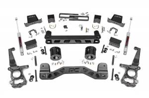 """Rough Country 6"""" 2015-2020 Ford F-150 2WD Lift Kit with Premium N3 Shocks 55330"""