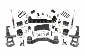 """Rough Country 4"""" 2015-2020 Ford F-150 4WD Lift Kit with N3 Shocks 55530"""