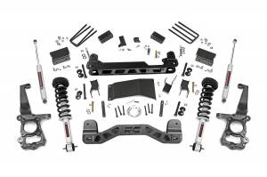 """Rough Country 4"""" 2015-2020 Ford F-150 4WD Lift Kit with Lifted Struts and N3 Shocks 55531"""