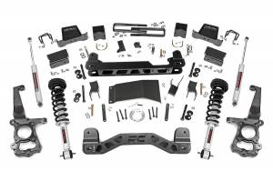 """Rough Country 6"""" 2015-2020 Ford F-150 4WD Lift Kit with Lifted Struts and N3 Shocks 55731"""