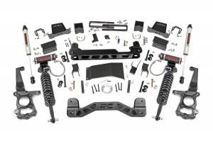 """Rough Country 6"""" 2015-2020 Ford F-150 4WD Lift Kit with Vertex Adjustable Coilovers and V2 Monotube Shocks 55757"""