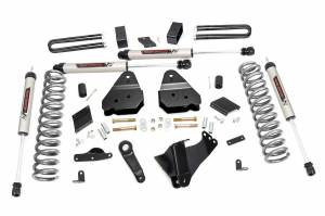 """Rough Country 4.5"""" 2011-2014 Ford F-250 Super Duty Lift Kit with V2 Monotube Shocks 56370"""