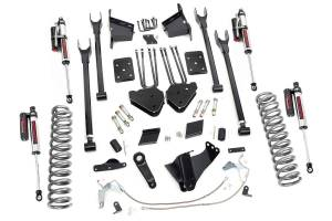 """Rough Country 6"""" 2011-2014 Ford F-250 Super Duty Lift Kit with Vertex Reservoir Shocks 56550"""