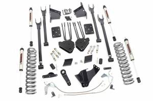 """Rough Country 6"""" 2011-2014 Ford F-250 Super Duty Lift Kit with V2 Monotube Shocks 56570"""