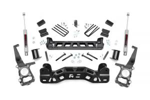 """Rough Country 4"""" 2011-2014 Ford F-150 2WD Lift Kit with Premium N3 Shocks 57230"""