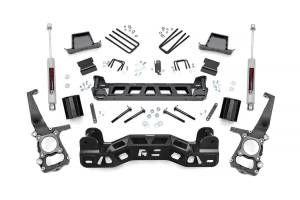 """Rough Country 6"""" 2011-2014 Ford F-150 2WD Lift Kit with Premium N3 Shocks 57330"""