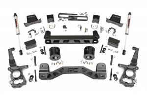 """Rough Country 6"""" 2011-2014 Ford F-150 2WD Lift Kit with V2 Monotube Shocks 57370"""