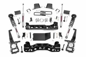 """Rough Country 6"""" 2011-2013 Ford F-150 4WD Lift Kit with Lifted Struts and N3 Shocks 57532"""