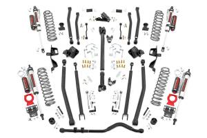 Rough Country - 4in Long Arm Suspension Lift Kit w/ Vertex Shocks (18-20 Wrangler JL, 4-Door) - 61950