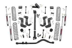 Rough Country - 3.5in Jeep Susp Lft Kit, Stg 2, Coils & Cntrl Arm Drop (18-20 Wrnglr JL- 2 Door) - 62730