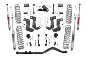 Rough Country - 3.5in Jeep Suspension Lift Kit, Control Arm Drop (18-20 Wrangler JL - 2 Door) - 62930