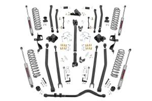 Rough Country - 6in Long Arm Suspension Lift Kit w/ N3 Shocks (18-20 Wrangler JL, 4-Door) - 66030