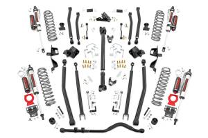 Rough Country - 6in Long Arm Suspension Lift Kit w/ Vertex Shocks (18-20 Wrangler JL, 4-Door) - 66050