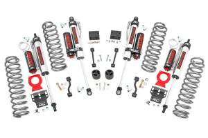Rough Country - 2.5in Jeep Suspension Lift Kit, Springs & Vertex Shocks (18-20 Wrangler JL) - 67750