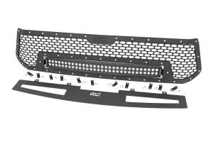 Lighting - Off Road Lights - Rough Country - Toyota Mesh Grille w/30in Dual Row Black Series LED (14-17 Tundra) - 70226