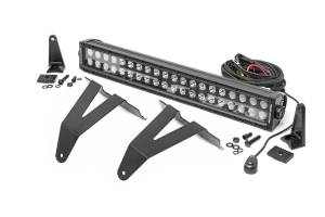 Lighting - Grille Light Kits - Rough Country - Dodge 20in LED Bumper Kit, Black Series (19-20 RAM 1500) - 70779