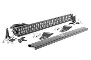 Lighting - Grille Light Kits - Rough Country - Toyota 30in LED Grille Kit, Black Series (14-20 4-Runner) - 70786
