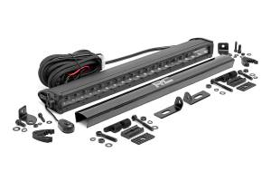Lighting - Grille Light Kits - Rough Country - Ford 20in LED Bumper Kit, Black-Series (19-20 Ranger) - 70815