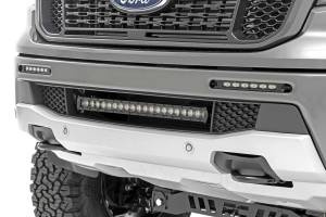 Lighting - Grille Light Kits - Rough Country - Ford Dual 6in LED Bumper Kit (19-20 Ranger) - 70829