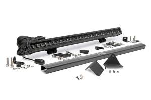 Light Bars - Light Bar Kits - Rough Country - Can-Am Defender Rear Facing Lower Single Row 30-Inch LED Kit (16-20 Defender) - 71016