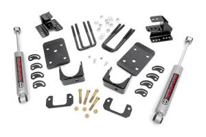 Suspension - Lowering Kits - Rough Country - 2in / 4in GM Lowering Kit (16-18 1500 PU 2WD) - 71830