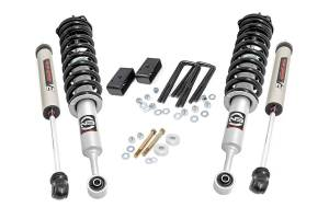Rough Country - 3in Toyota Suspension Lift Kit, Lifted N3 Struts & V2 Shocks (05-20 Tacoma) - 74571