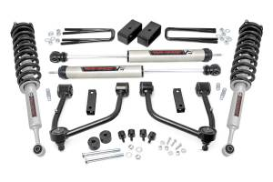 Rough Country - 3.5in Toyota Bolt-On Lift Kit w/Lifted Struts & V2 Shocks (07-20 Tundra 2WD/4WD) - 76871