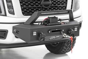 Winch & Recovery - Winch Accessories - Rough Country - EXO Winch Mount System (16-20 Nissan Titan) - 82000