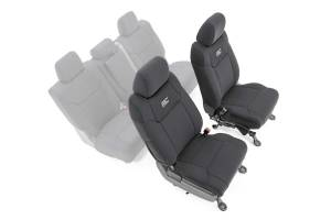 Interior - Seat Covers - Rough Country - Toyota Neoprene Front Seat Covers (14-20 Tundra) - 91026