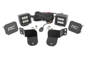 Lighting - Interior Lights - Rough Country - Polaris Dual LED Cube Kit - Black Series (16-20 General) - 93022