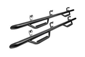 """Rough Country - GM Wheel to Wheel Nerf Steps (92-00 Chevy/GMC 2500/3500 Crew Cab, 6' 5"""" Bed) - RCC92100CC"""