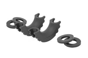 Bumpers - Bumper Accessories - Rough Country - D-Ring Isolators (Black, Pair) - RS101