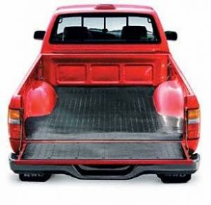 Truck Bed - Bed Mats - TrailFX - Direct-Fit Without Raised Edges Black Nyracord Tailgate Liner/ Mat Not Included - 619D