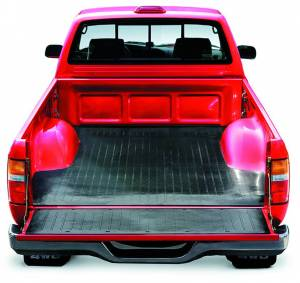 Truck Bed - Bed Mats - TrailFX - Direct-Fit Without Raised Edges Black Nyracord Tailgate Liner/ Mat Not Included - 632D