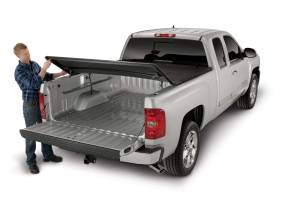 Truck Bed Accessories - Tonneau Cover Accessories - TrailFX - For Tri-Fold Covers Powder Coated Black Steel - TFX1922