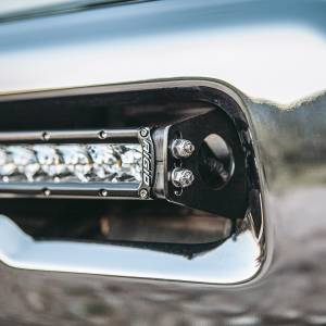 "Light Bars - Light Bar Mounting Kits - RIGID Industries - 2010-2019 RAM 2500/3500 Bumper Mount fits RIGID 20"" or 40"" LED light bar. - 41670"