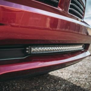 "Light Bars - Light Bar Mounting Kits - RIGID Industries - 2013-2018 RAM 1500 Bumper Mount fits RIGID 30"" SR-Series LED light bar. - 41671"