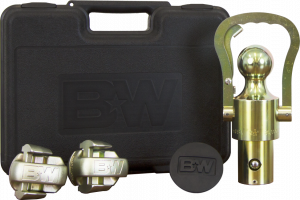 Towing - Gooseneck - B&W Trailer Hitches - OEM Ball and Safety Chain Kit for GM/Ford/Nissan - GNXA2061