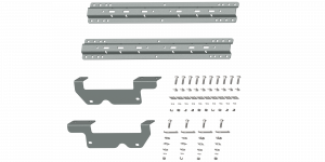 Towing - Fifth Wheel - B&W Trailer Hitches - Custom Installation Kit For Universal Mounting Rails For Some Ford Trucks - RVK2403