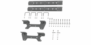 Towing - Fifth Wheel - B&W Trailer Hitches - Custom Installation Kit For Universal Mounting Rails For Some GM Trucks - RVK2504