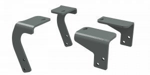 Towing - Fifth Wheel - B&W Trailer Hitches - Custom Installation Kit For Universal Mounting Rails For Some RAM Trucks - RVR3205