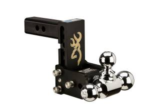 "Towing - Adjustable Ball Hitches - B&W Trailer Hitches - 8"" Bwg T&S, Tri-Ball-Boxed - TS10048BB"