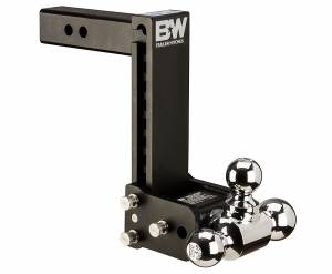 Towing - Adjustable Ball Hitches - B&W Trailer Hitches - Type 12 Tri-Ball - TS10050B