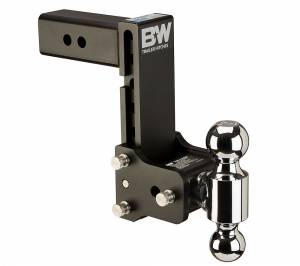Towing - Adjustable Ball Hitches - B&W Trailer Hitches - 2.5 Model 10 Blk T&S Dual Ball - TS20040B