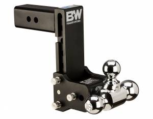 Towing - Adjustable Ball Hitches - B&W Trailer Hitches - 2.5 Model 10 Blk T&S Tri Ball - TS20049B