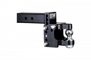 "Towing - Adjustable Ball Hitches - B&W Trailer Hitches - 2.5 Mdl 8 Pintle, 2"" Ball - TS20055"