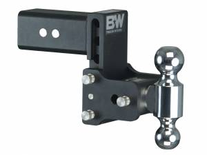 Towing - Towing Accessories - B&W Trailer Hitches - 3 Model 8 Blk T&S Dual Ball - TS30037B