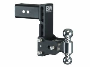 Towing - Adjustable Ball Hitches - B&W Trailer Hitches - 3 Model 10 Blk T&S Dual Ball - TS30040B