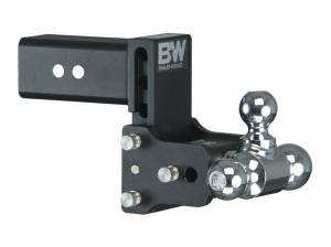 Towing - Towing Accessories - B&W Trailer Hitches - 3 Model 8 Blk T&S Tri Ball - TS30048B